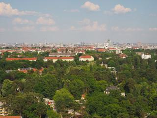Papiers peints Cracovie Aerial view of Berlin