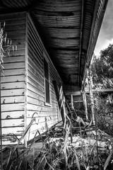 Old abandoned house in Rockbank, Victoria, Australia