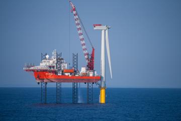 Offshore Wind Turbine Construction