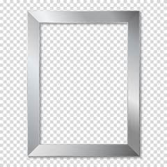 Metal frame isolated
