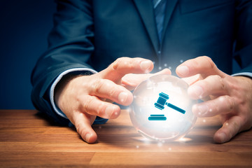 Lawyer or advocate predict result of a court decision