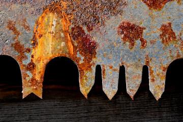 Saw teeth abstract