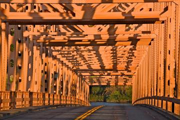 Truss bridge abstact