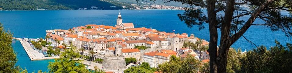 Wall Mural - Town of Korcula, Dalmatia, Croatia