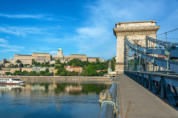 Danube River and National Gallery