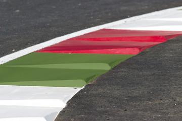 Foto op Aluminium F1 fantasma de pista de autos