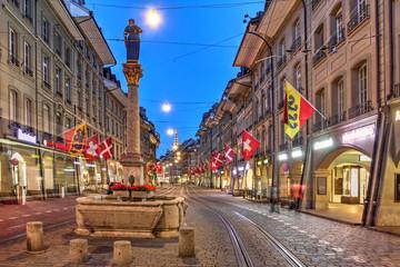 Marktgasse street, Bern, Switzerland