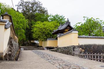 Alley in Nara City, Nara Prefecture, Japan
