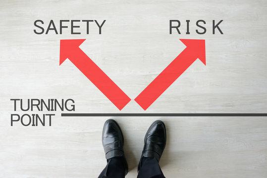 ビジネスイメージ―安全性かリスクか