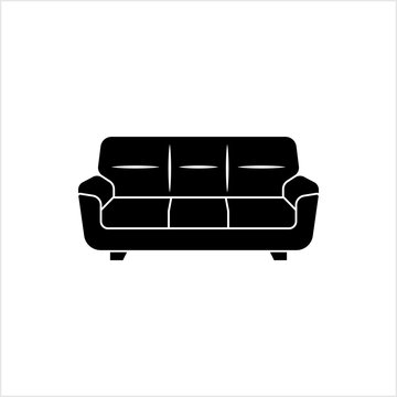Sofa Icon, Furniture Icon