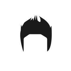 hair, woman, haircut, mohawk icon