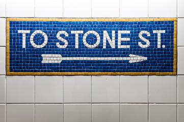 New York City subway, United States of America.