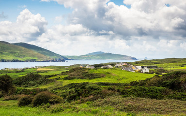 Landscape at Lamb's Head in Ireland