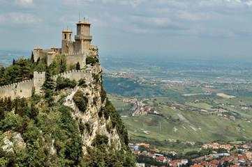 View of San Marino Wall mural