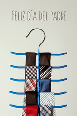 neckties and text happy fathers day