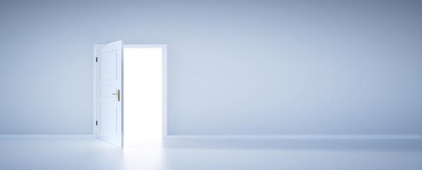 Fototapeta Open door to light, new life obraz