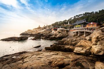 Busan Seaside temple.