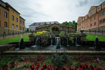 "Fountain monumentat ""Schlossberg"" Gotha"