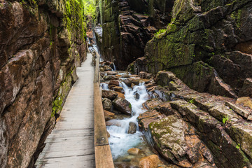 Flume Gorge, Franconia Notch State Park, New Hampshire, United States