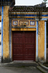 Asian imperial door.
