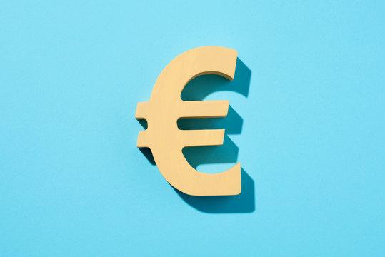yellow euro sign