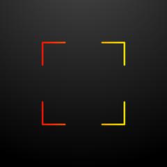 Focus nolan icon. Elements of image set. Simple icon for websites, web design, mobile app, info graphics