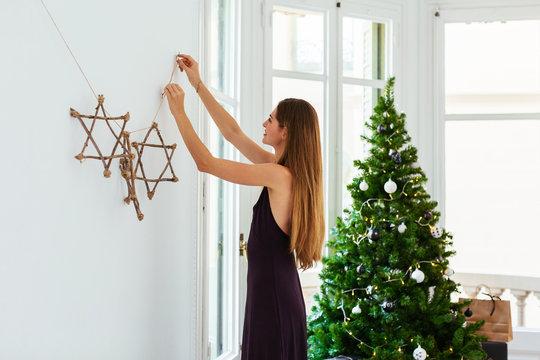 Christmas at home.