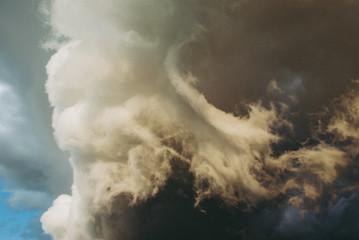 Background symbolizing the power of the elements. Fototapete