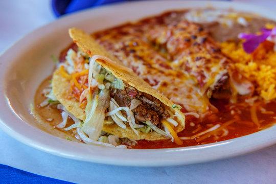 Mexican Tamale Enchilada Taco