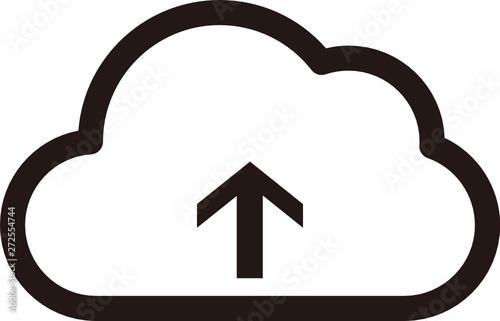 SVG) cloud icon / upload