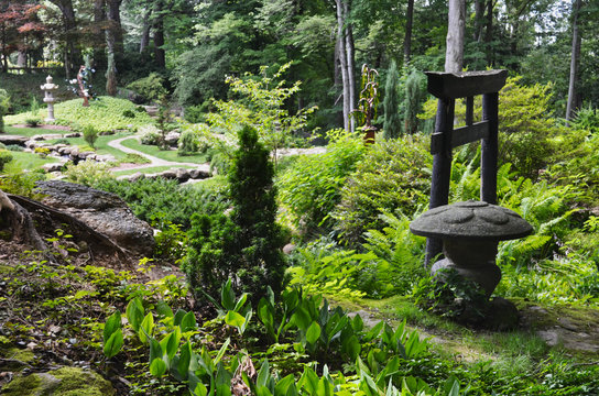 Japanese Garden at Stan Hywet Hall and Gardens Akron OH