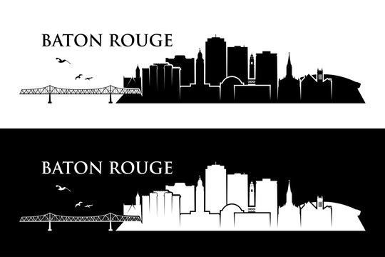 Baton Rouge skyline - Louisiana, United States of America, USA
