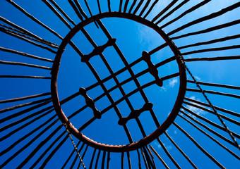 Wooden Frame Of A Yurt, Saralasaz Jailoo, Kyrgyzstan