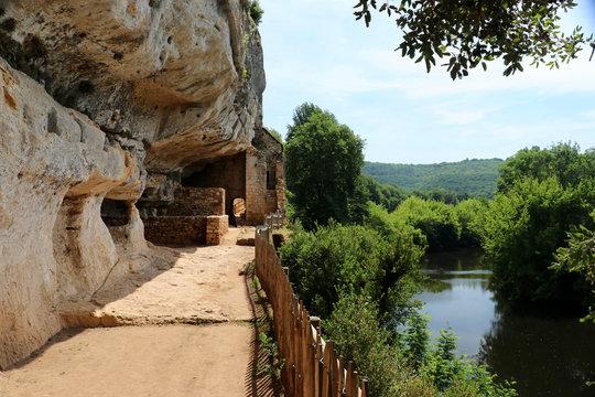 Weltkulturerbe Le Village de la Madeleine, Vezere, Perigord
