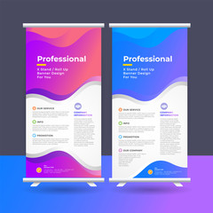 Company Business Roll Up Banner Design