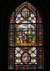 Glas in lood raam La Fleet en Ré