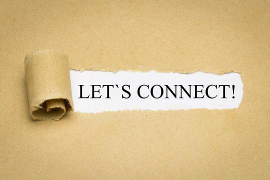 Let´s connect!