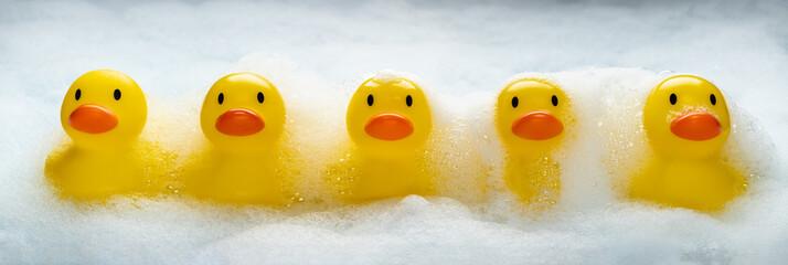 Duckies Duckies Duckies Wall mural