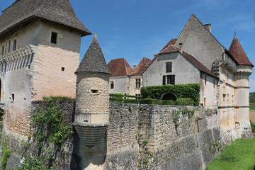 Chateau de Losse, Vezere, Perigord, Frankreich