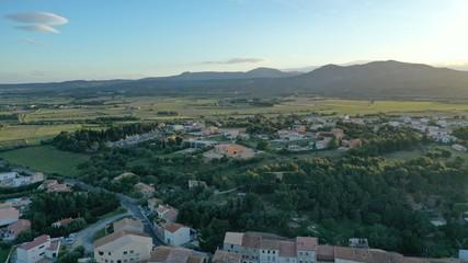 Papiers peints Bleu vert Côte Languedocienne: Leucate et La Franqui