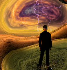 Confront the storm