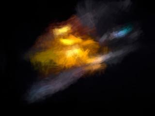 Yellow Burst Canvas Texture Background