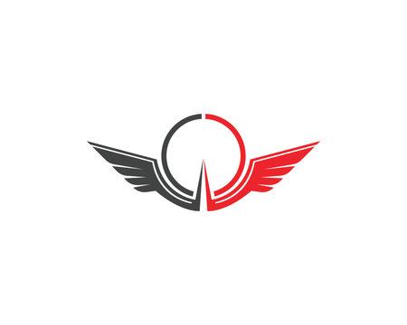 wing logo symbol