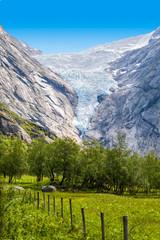 Briksdal-Gletscher