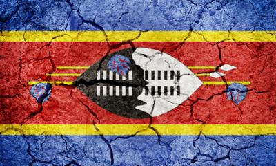 Kingdom of Eswatini or Swaziland flag