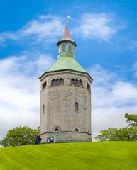 Feuerwachturm im norwegischen Stavanger