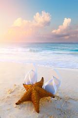 Art summer background concept; summer vacation dream