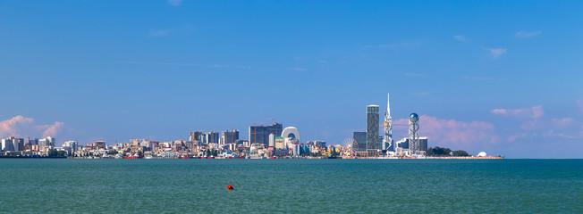 Fototapete - Panorama of the city of Batumi