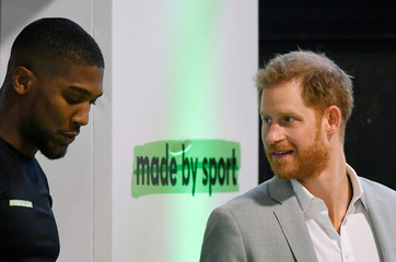 Britain's Prince Harry attends the launch of Made by Sport in London