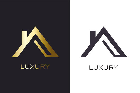Real Estate Lucxury house Logo for Business